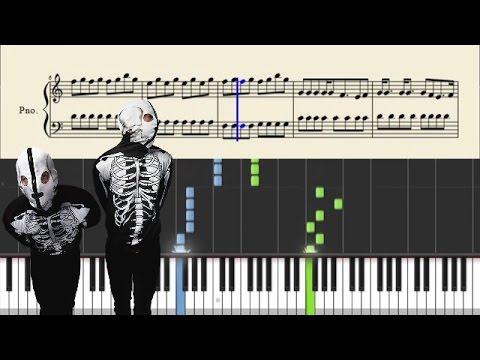 twenty one pilots: Johnny Boy - Piano Tutorial + Sheets