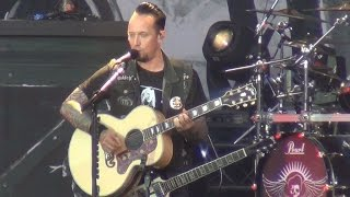 Volbeat - Sad Man's Tongue (with Ring of Fire intro) - Live Hellfest 2016