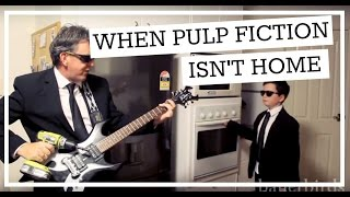 When Pulp Fiction Isn't Home / When Mom Isn't Home (Oven Kid)