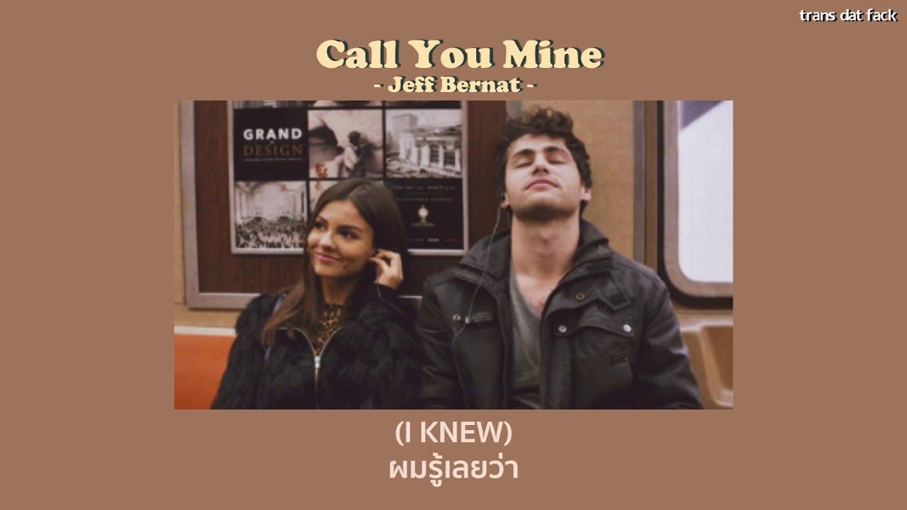 [Thaisub] Call You Mine – Jeff Bernat