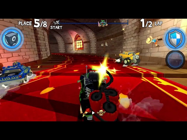 Beach Buggy Racing 2 Gameplay - Castle Drago