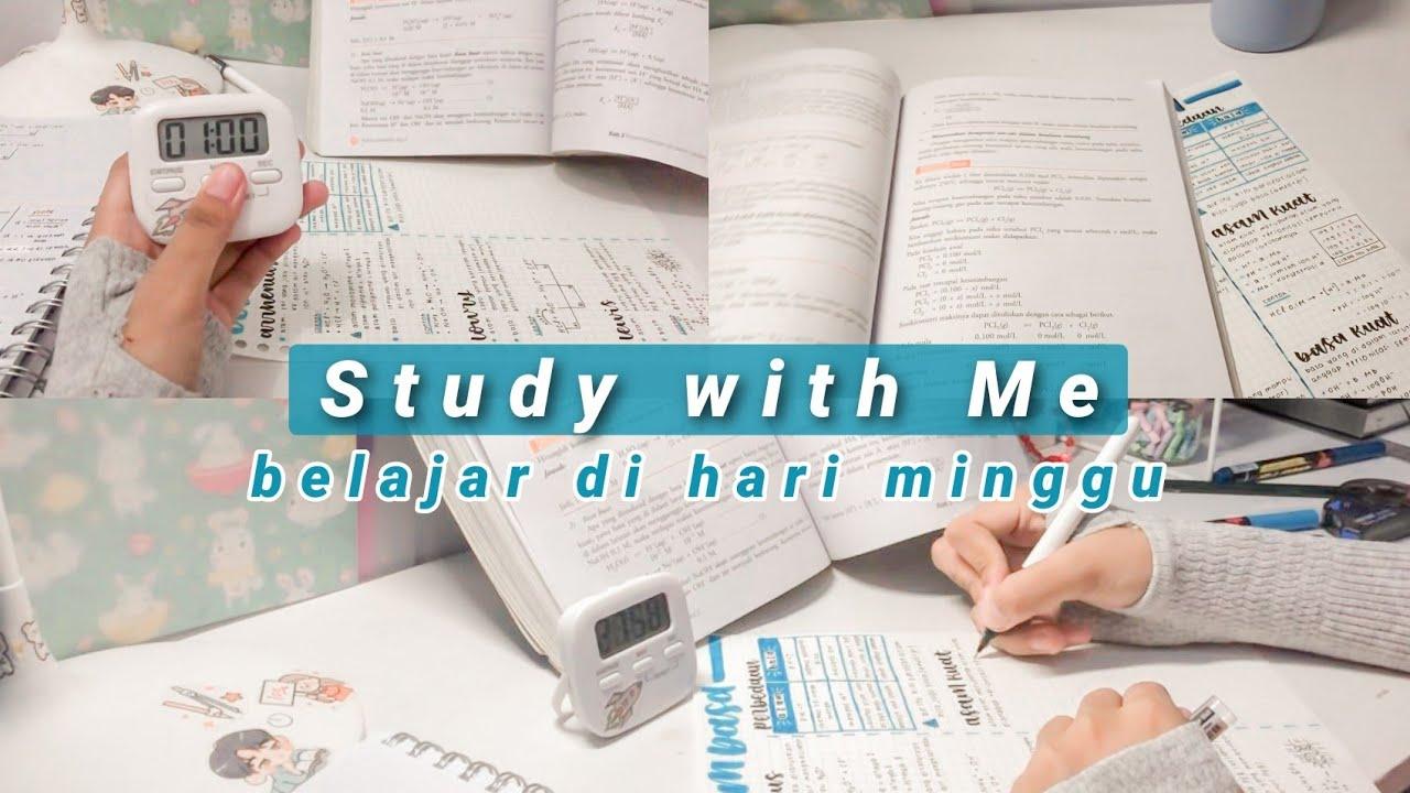 Study with Me | Belajar Malam di Hari Libur