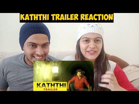 Kaththi   Trailer Reaction  Vijay, Samantha   A R Murugadoss   Anirudh   Official  || Shw Vlog