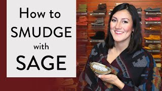 How to Smudge with Sage 😌(Smudging to Purify your HOUSE with SAGE)