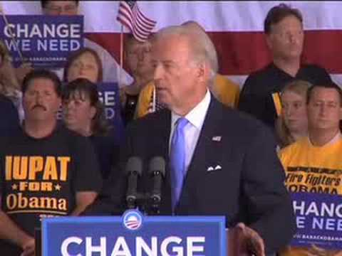 Joe Biden: St. Clair Shores, Michigan