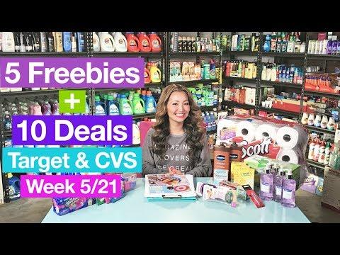 ★ 5 FREEBIES - Target & CVS Coupon DEALS (Week 5/21-5/27)