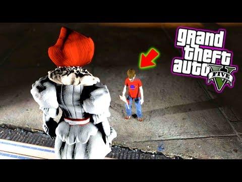 Si ves esto, Corre rapido y pide ayuda !! (niño poseido) - Grand Theft Auto 5