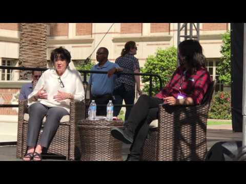 Virginia and Dave Grohl at LA Times Festival of Books (Full Interview)