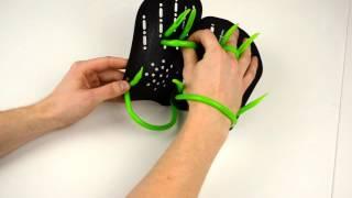 Лопатки для плавания Hand Paddles Madwave - видеообзор