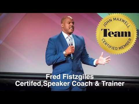 Fred Fistzgiles -Speaker Coach Trainer Media Consultant Promo