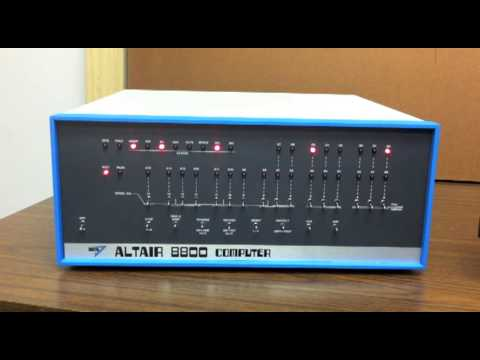 Altair 8800 - Video #7 - Loading 4K BASIC from a Paper Tape Image
