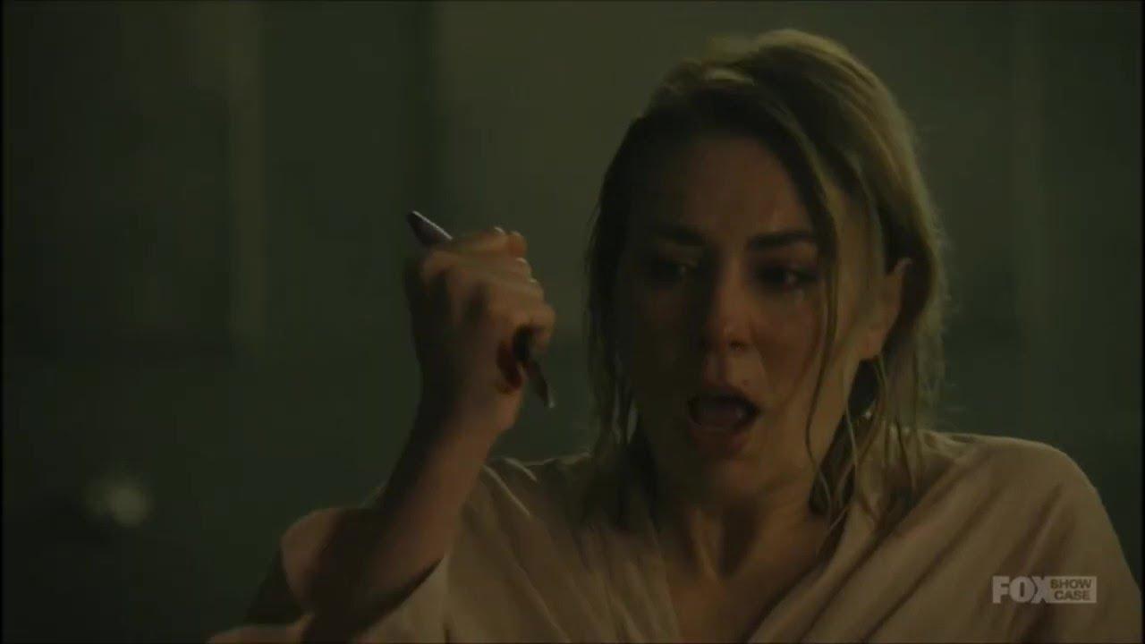 Download Allie stabbed herself !! season 9 episode 7 - wentworth