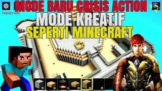 Mode Kreatif MINECRAFT Di CRISIS ACTION