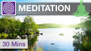 Meditation Music for Afternoons ☯ 30 Minutes of Healing Yoga Music, Outdoor Yoga, Peaceful Music