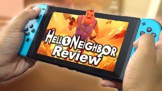 Hello Neighbor Review | Nintendo Switch