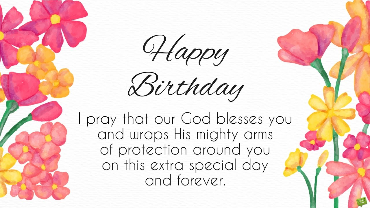 Birthday Prayers as Warm Wishes | Blessings from the Heart