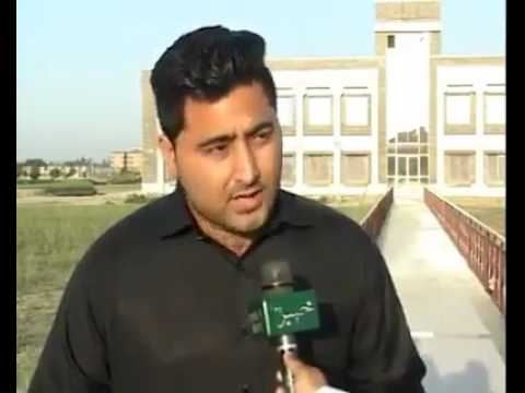 Mashal Khan talking to media about student issues in University