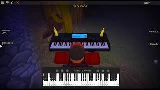 Familiar - Steven Universe by: Rebecca Sugar on a ROBLOX piano.