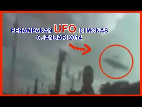 penampakan ufo di monas asli ditayangkan televisi nasional