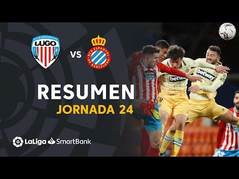 Lugo Espanyol Goals And Highlights