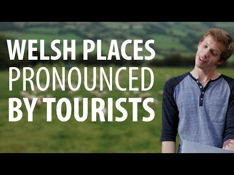 Tourists Attempt to Pronounce Welsh Places