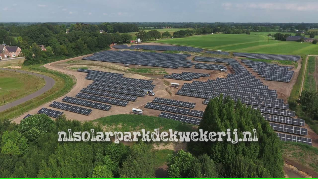 Solarpark De Kwekerij Hengelo GB   YouTube