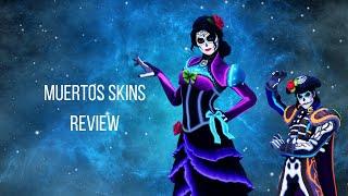 Dante and Rosa Fortnite Skin REVIEW