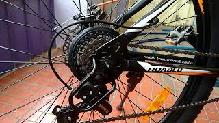 Hercules roadeo Hank-first look(matt black,27.5 inch wheel,dual disc brake)
