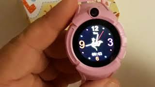 Как настроить и подключить вставит сим карту в умные детские часы Q360 Pink