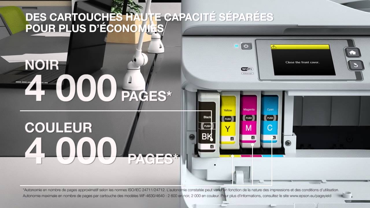 Workforce pro wf 5620dwf product video français youtube
