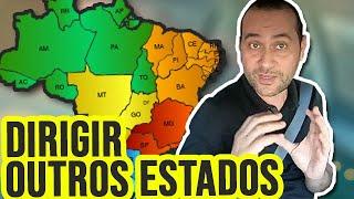 Como Dirigir na UBER em OUTROS ESTADOS do Brasil ?