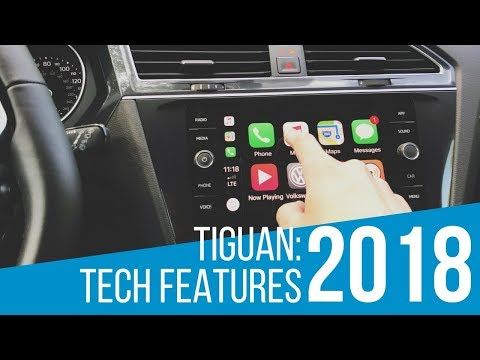 2018 Volkswagen Tiguan: Tech Features