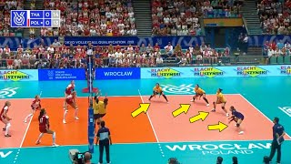 This is Why We Love Volleyball Team Thailand | Beautiful Actions (HD)