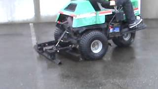 Sold! Cushman Textron Groom Master 3 Wheel Turf Field Groomer W/ bidadoo.com