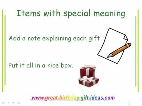 21st Birthday Gift Ideas For Girlfriend