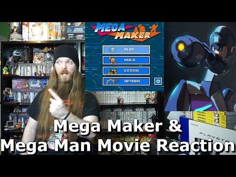 Mega Maker the Super Mario Maker for Mega Man Games & Mega Man Movie Reaction - AlphaOmegaSin