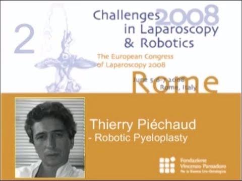 CILR 2008 - Thierry Piéchaud - Robotic Pyeloplasty