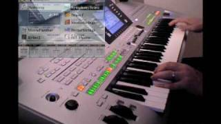James Bond 007 Theme • Yamaha Tyros 3 Demo