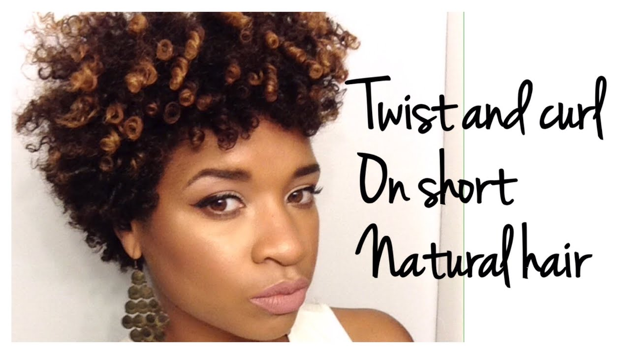twist and curl short natural