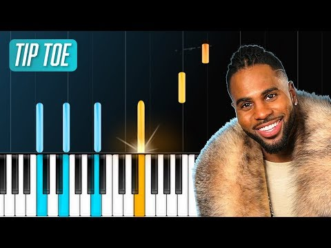 """Jason Derulo - """"Tip Toe"""" Piano Tutorial - Chords - How To Play - Cover"""