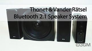 #1702 - Thonet & Vander Rätsel Bluetooth 2.1 Speaker System Video Review