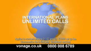 Vonage Animation TV Commercial by The DRTV Centre, May 2012
