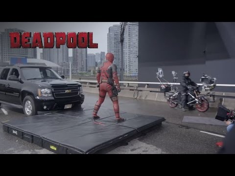 Behind the Scenes Clip of Deadpool Motorcycle Sequence | 20th Century FOX