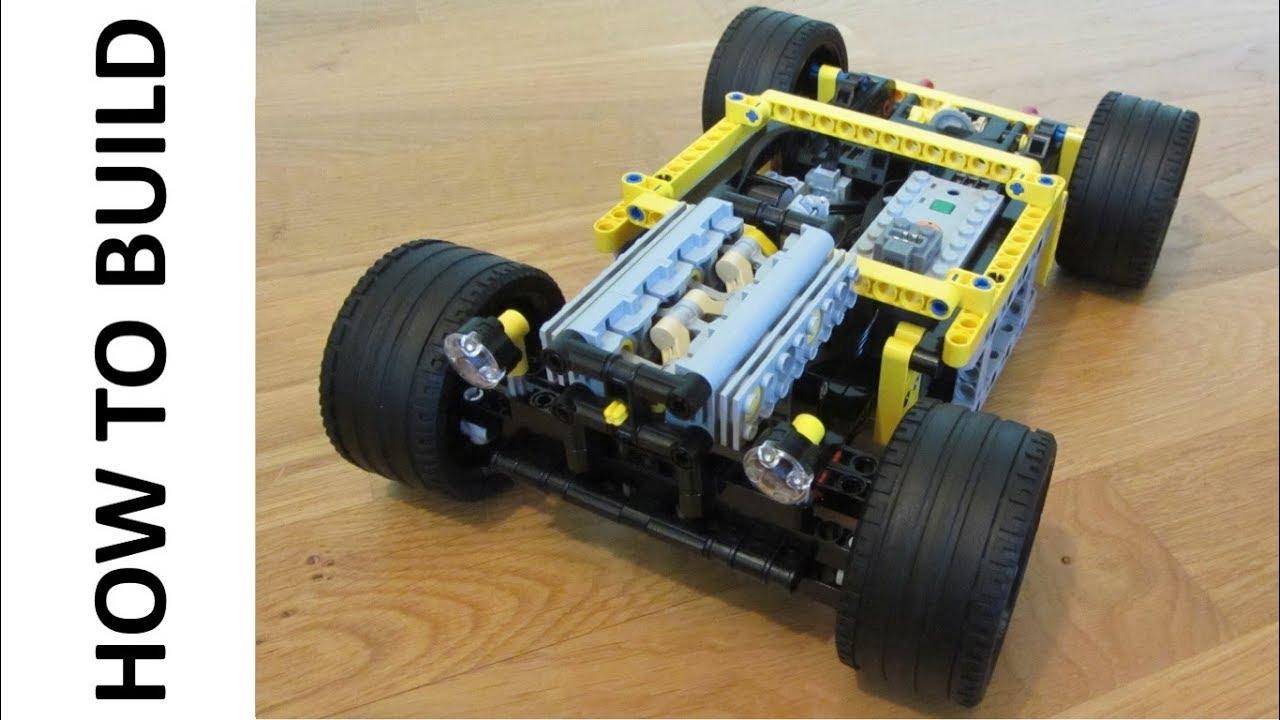 Lego Technic Rc Chassis Instructions 2 Buggy Motors Youtube