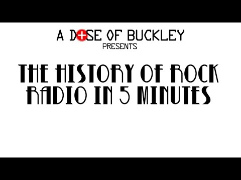 The History of Rock Radio in 5 Minutes