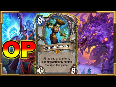 Best Priest Deck To Reach Legend | Can We Nerf It Already? Ashes Of Outland | Hearthstone