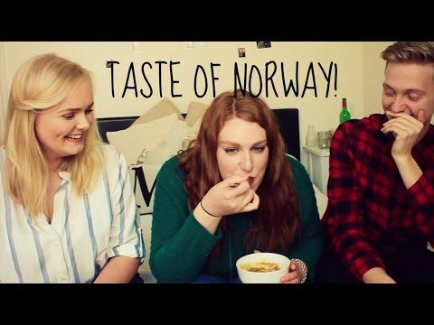 Trying Norwegian Food!