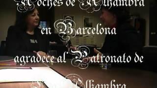 LA ALHAMBRA -  Mª del Mar Villafranca-Entrevistada por