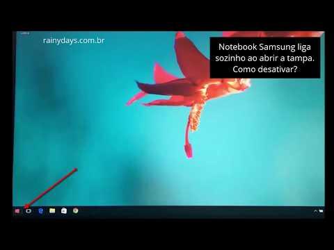 Notebook Samsung liga sozinho ao abrir a tampa - RainyDays.com.br