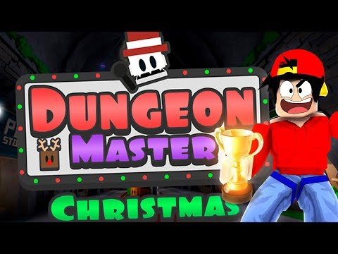 ROBLOX - CHRISTMAS DUNGEON MASTER CHAMPION!!!
